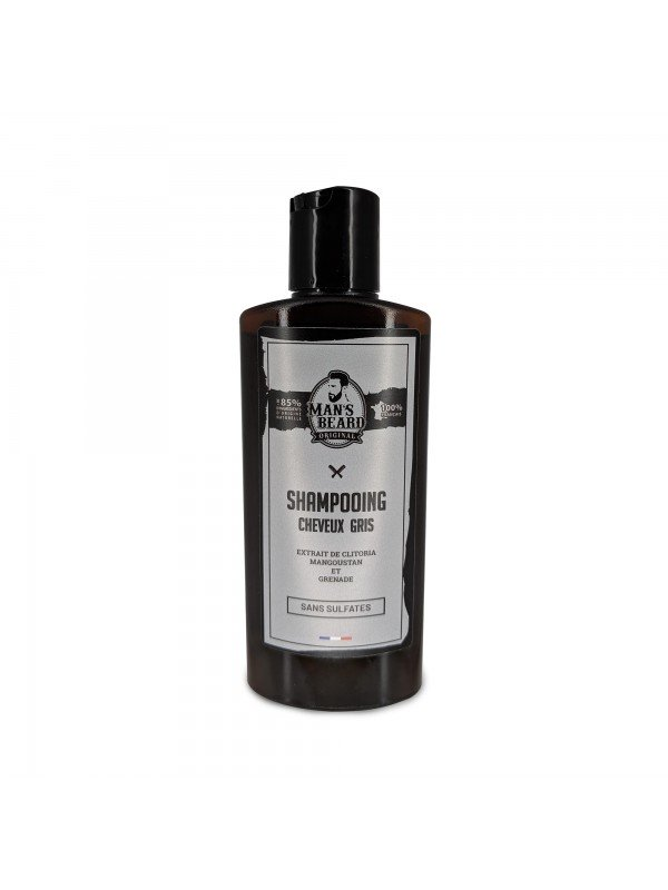 Shampoing cheveux gris - Man's Beard