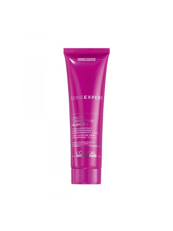 Color Corrector Blonde, Crème correctrice + perfectrive couleur anti-jaunissement, 150 ml - L'Oréal Professionnel