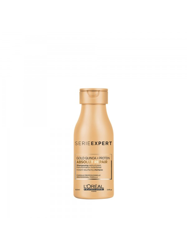 Absolut Repair, Shampoing restructurant, transformation instantanée, 100 ml - L'Oréal Professionnel