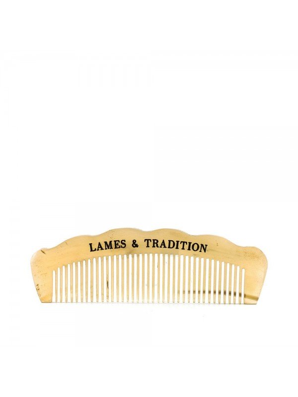 Peigne en corne véritable avec étui - Lames & Tradition