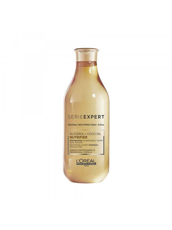 Nutrifier, Shampoing compensateur nutritif sans silicone, 300 ml - L'Oréal Professionnel