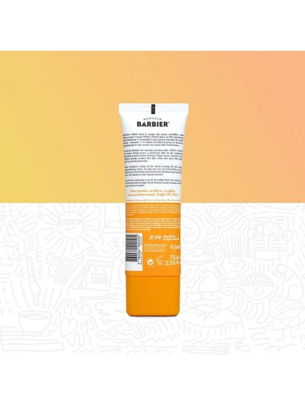 Lotion avant-rasage PREPA SHAVE 75 ml - Monsieur Barbier