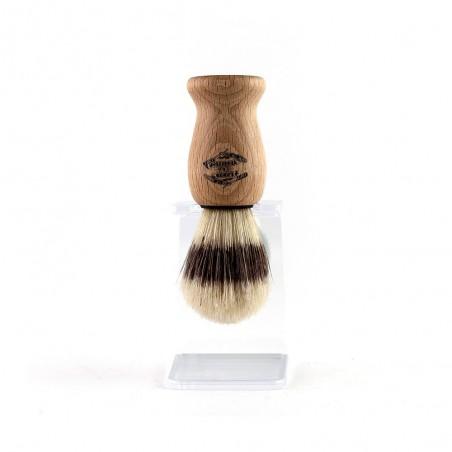 Blaireau classique 10,5 cm avec support - Lames & Tradition