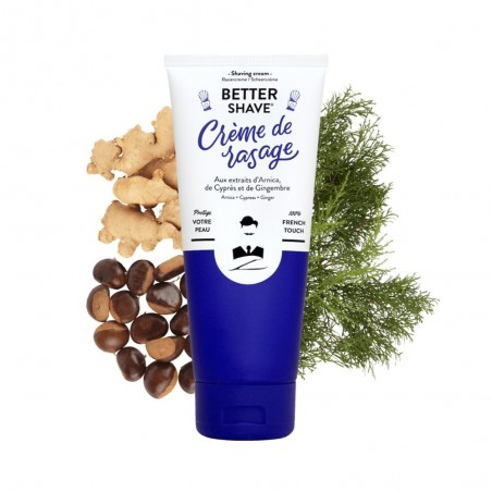 Crème de rasage - Monsieur Barbier