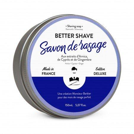 Savon de rasage, BETTER SHAVE 150 ml - Monsieur Barbier