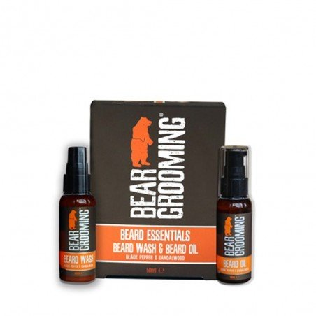 Coffret - Shampoing à barbe & Huile à barbe | BEARD ESSENTIALS - Bear Grooming