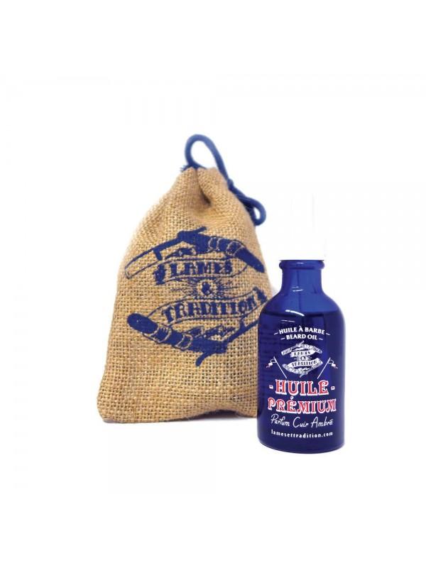 Huile à barbe Premium - Lames & Tradition