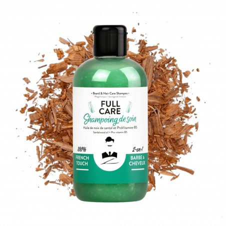 Shampoing barbe & cheveux - Full Care - Monsieur Barbier
