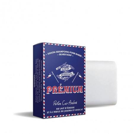 Shampoing à barbe Premium au lait d'ânesse - Lames & Tradition
