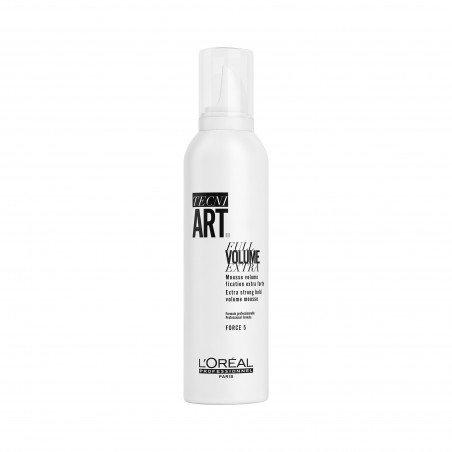 FULL VOLUME EXTRA, Mousse volume fixation extra forte, TECNI ART., 250 ml - L'Oréal Professionnel