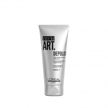 DEPOLISH, Pâte déstructurante effet brut, TECNI ART., 100 ml - L'Oréal Professionnel
