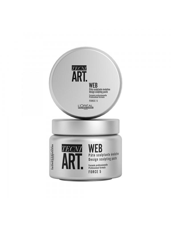 WEB, Pâte sculptante évolutive, TECNI ART., 150 ml - L'Oréal Professionnel