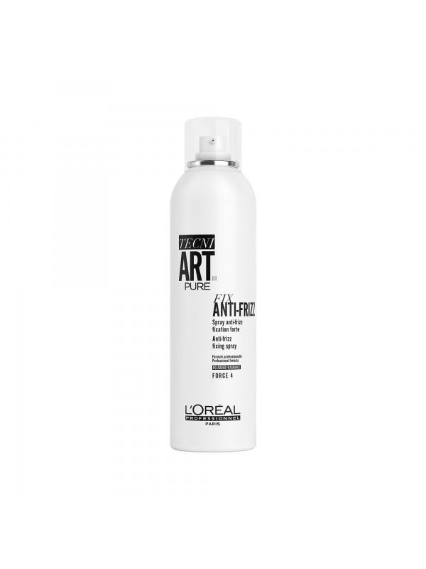 FIX ANTI-FRIZZ PURE, Spray anti-frizz fixation forte, TECNI ART., 400 ml - L'Oréal Professionnel